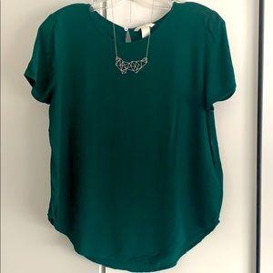 H&M Green t-shirt Blouse